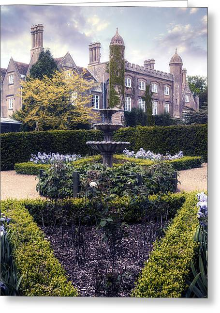 Fairy Tale Mansion Greeting Card by Joana Kruse