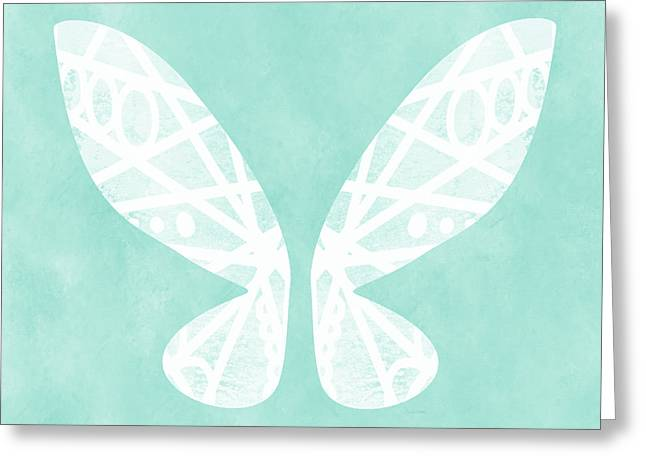 Fairy Wings- Art By Linda Woods Greeting Card