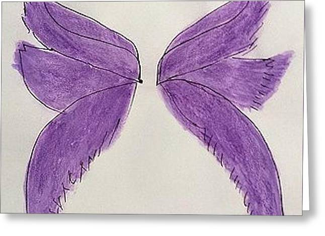 Fairy Wings For Sale Greeting Card