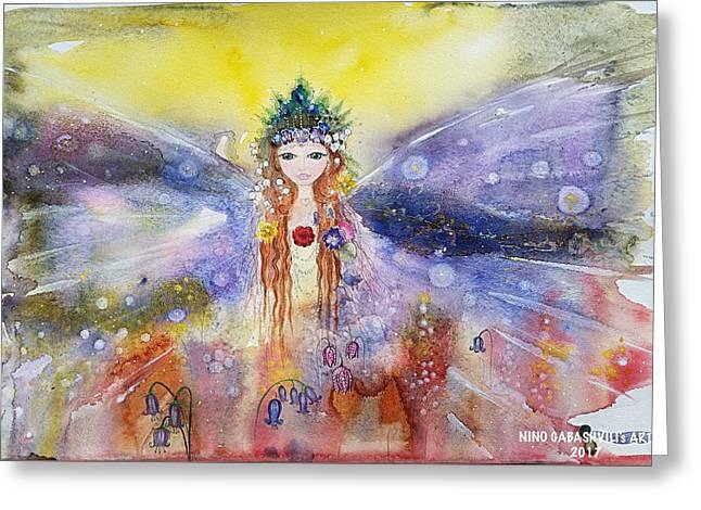 Fairy World Greeting Card