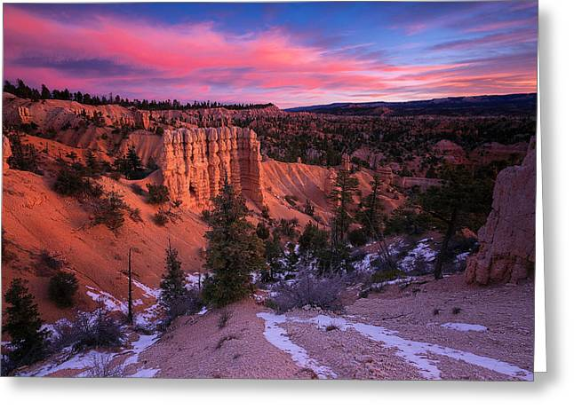 Greeting Card featuring the photograph Fairyland Loop Trail by Edgars Erglis