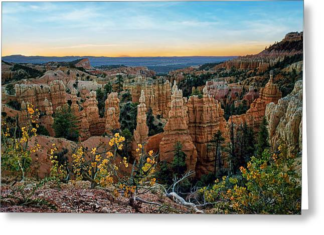 Fairyland Morning - Bryce - Utah Greeting Card by Nikolyn McDonald