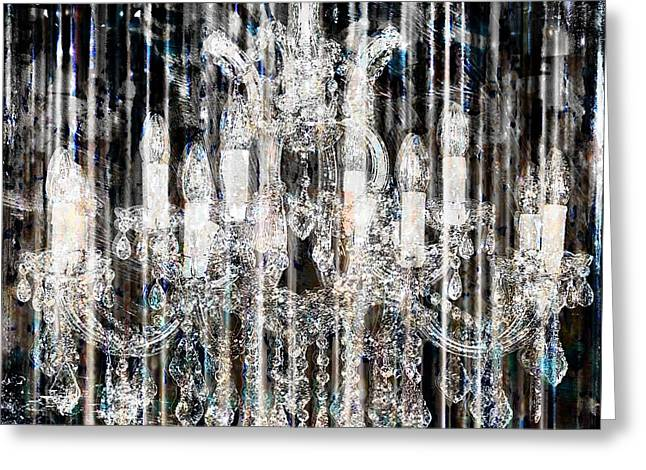 Fairytale Ballroom II Greeting Card by Mindy Sommers