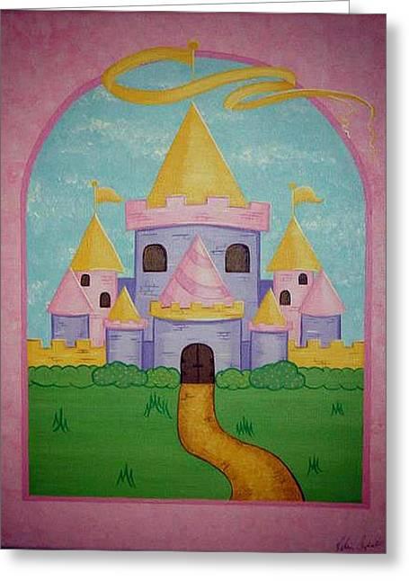 Fairytale Castle Greeting Card