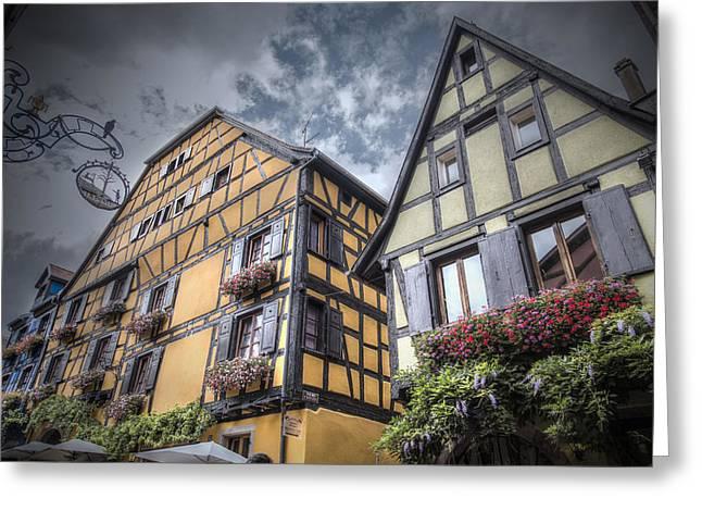 Fairytale Riquewihr, Alsace Greeting Card