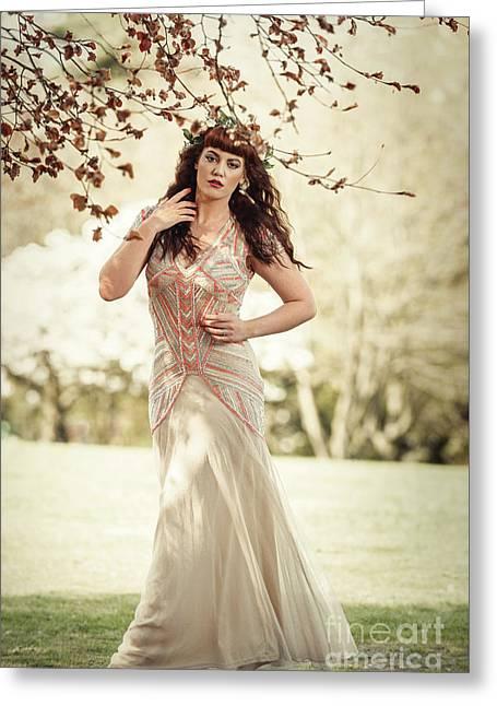 Fairytale Woman Greeting Card