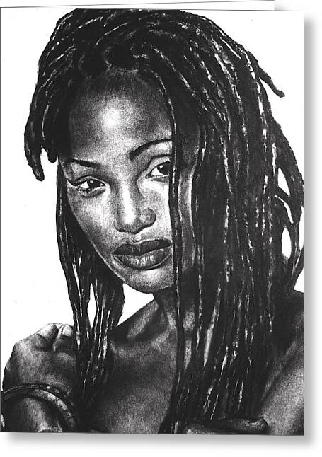 Dread Locks Greeting Cards - Faith Greeting Card by Curtis James