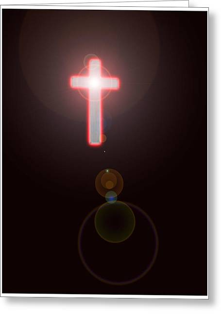 Faith Greeting Card by Richard N Watkins
