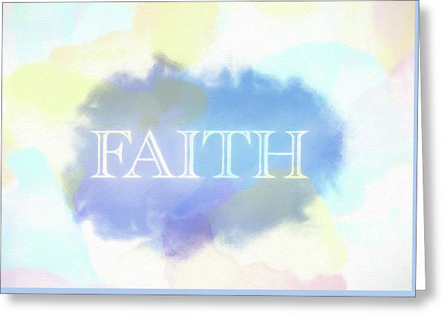 Faith Watercolor Greeting Card