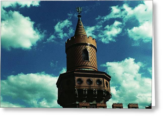 Fake German Castle Or Oberbaumbruecke Greeting Card
