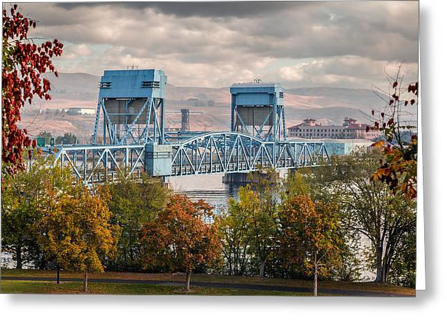 Fall 2015 Blue Bridge Greeting Card