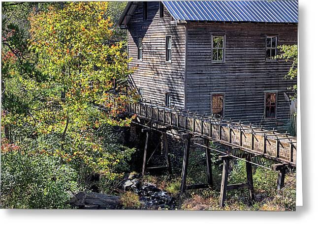 Fall At Bean's Mill Greeting Card