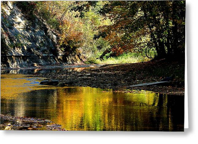 Fall At Big Creek Greeting Card
