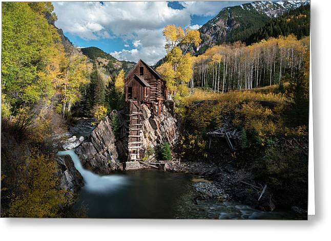 Fall At Crystal Mill Greeting Card