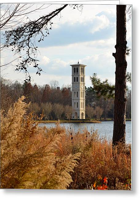 Fall At Furman Greeting Card by Corinne Rhode