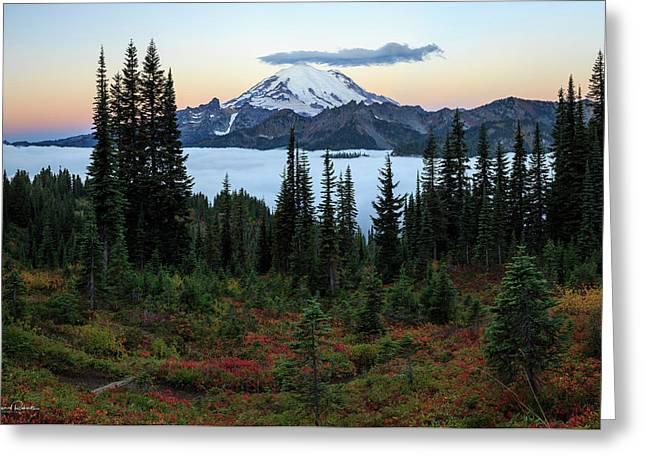 Fall At Naches Peak Greeting Card