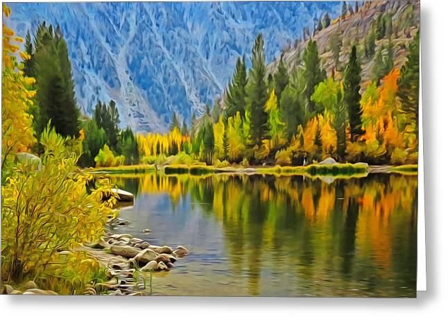 Fall At North Lake Greeting Card