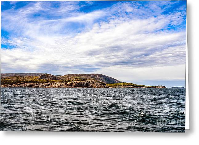 Greeting Card featuring the photograph Fall At Somes Sound by Anthony Baatz