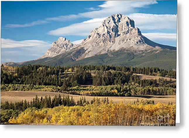 Fall At The Crowsnest Greeting Card