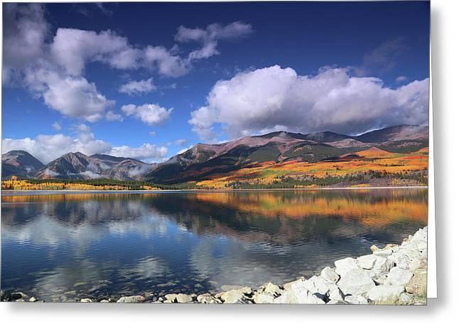 Fall At Twin Lakes Greeting Card