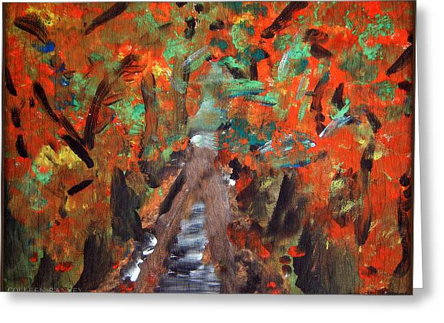 Fall By Colleen Ranney Greeting Card