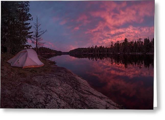 Fall Camping // Bwca, Minnesota  Greeting Card