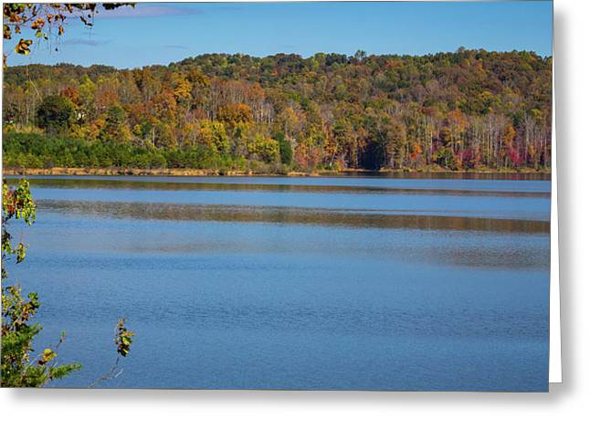 Fall Color At Lake Zwerner Greeting Card