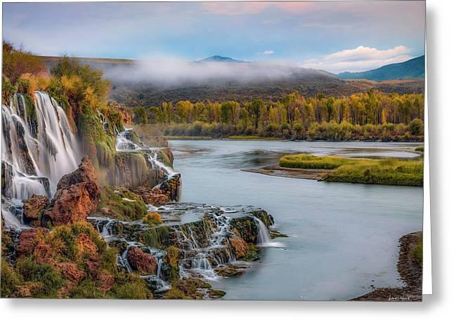 Fall Creek Autumn Greeting Card