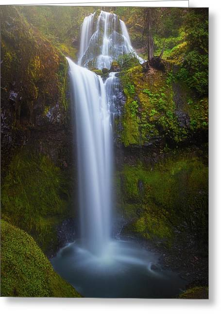 Greeting Card featuring the photograph Fall Creek Falls by Darren White