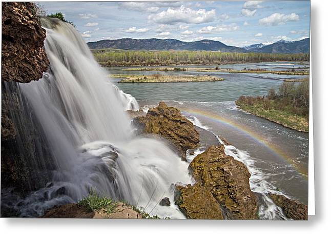 Fall Creek Falls Greeting Card