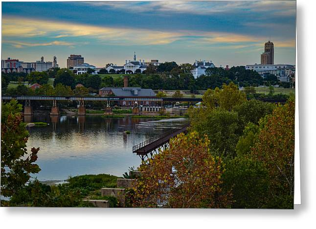 Fall Evening In Richmond Greeting Card