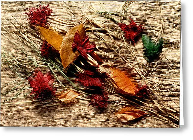 Fall Foliage Still Life Greeting Card