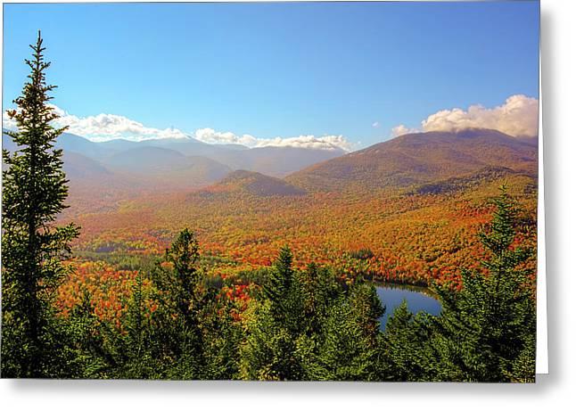 Fall From Mount Jo Greeting Card by Tony Beaver