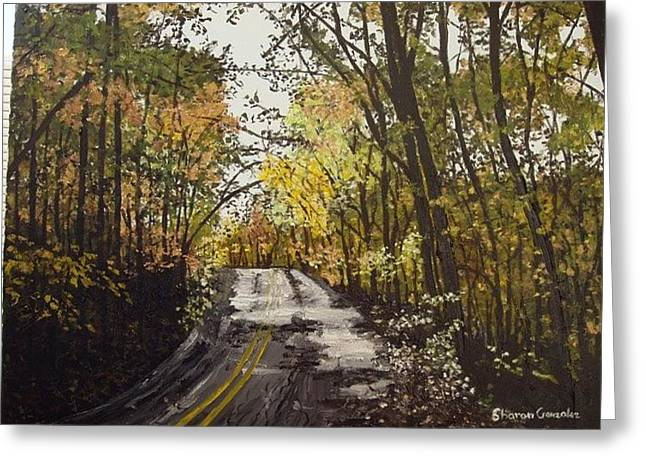 Fall In Arkansas Greeting Card by Sharon  De Vore
