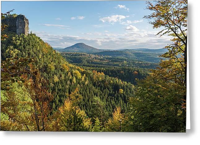 Fall In Bohemian Switzerland Greeting Card