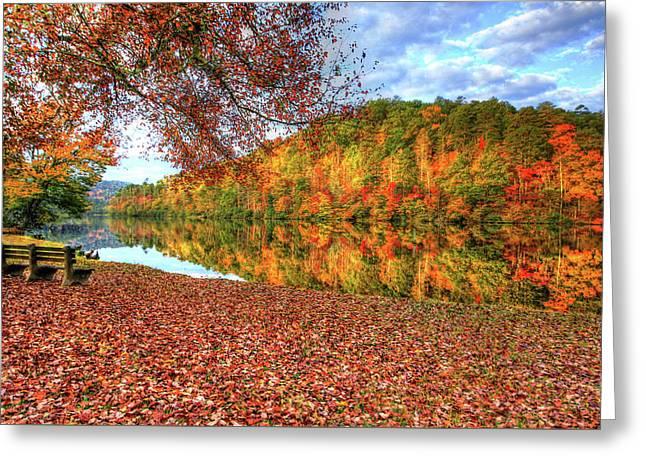 Fall In Murphy, North Carolina Greeting Card