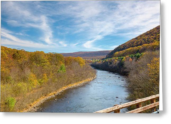 Fall In Pa Greeting Card by Jack R Perry