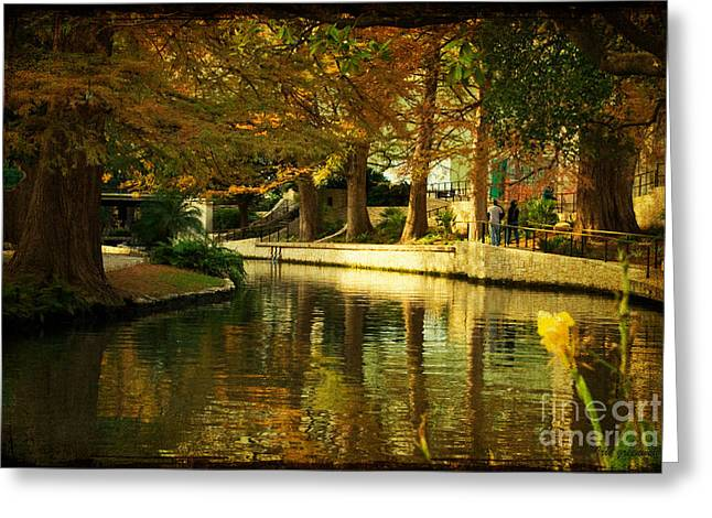 Fall In San Antonio Greeting Card
