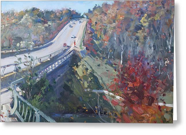 Fall In Silver Creek Georgetown  Greeting Card