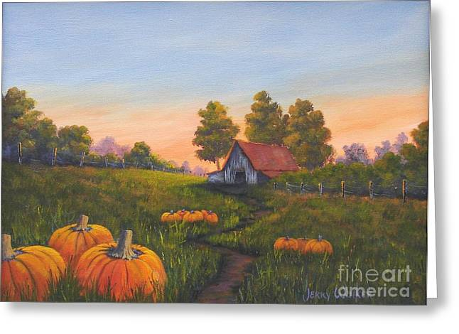 Fall In The Air Greeting Card by Jerry Walker