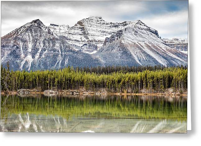 Greeting Card featuring the photograph Fall In The Canadian Rockies by Pierre Leclerc Photography