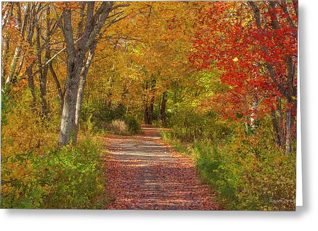 Fall In The Maritimes Greeting Card