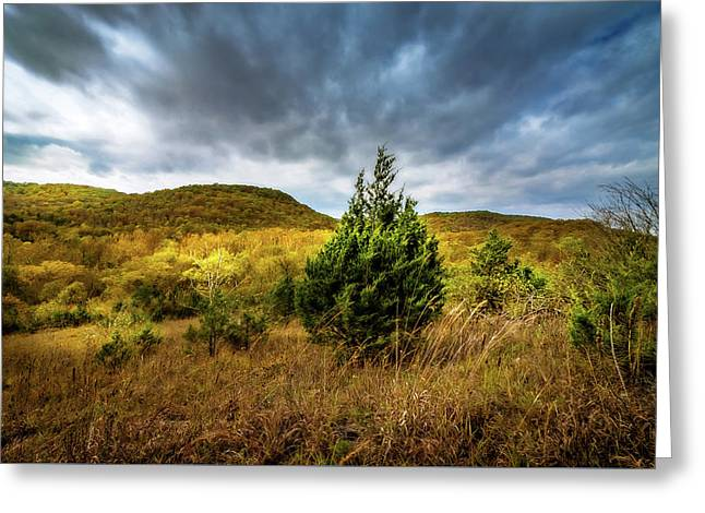 Fall In The Ozarks Greeting Card