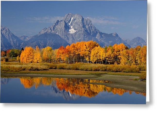 Fall In The Tetons Greeting Card