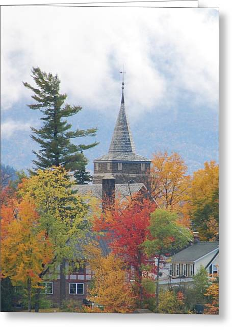 Fall In Upstate New York Greeting Card by Becky Hollis