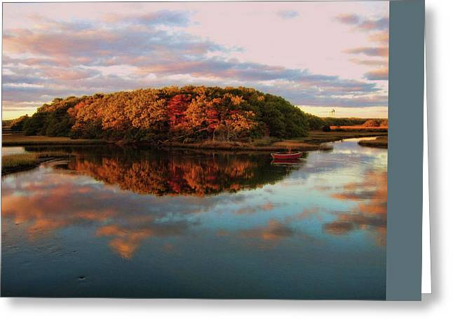 Fall In Wellfleet Greeting Card by JAMART Photography