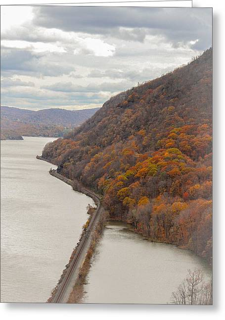 Fall In West Point Greeting Card