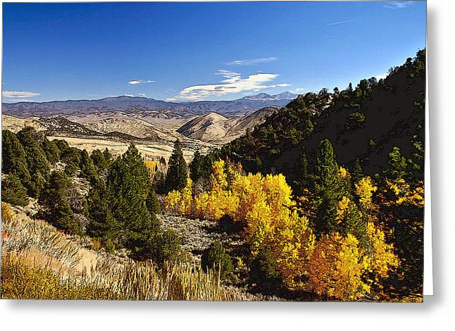 Fall Monitor Pass Greeting Card by Larry Darnell