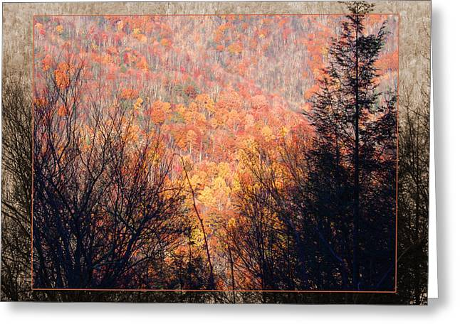 Fall Mountain Greeting Card by Robert Clayton