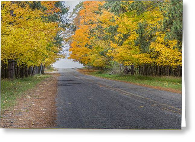 Fall On Esch Road Greeting Card by Twenty Two North Photography
